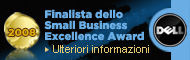 Dell Small Business Excellence Award Finalista 2008